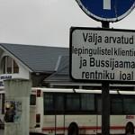 Kohtla-Järve bussijaam tõrjub Sebe busse