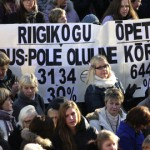 Enamik Ida-Viru koole asub streikima