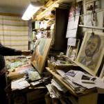 Kunstniku kodus ripub rohkem maale kui mõnel näitusel