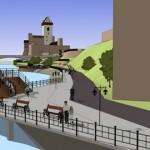 Narva sai promenaadi jaoks üle 4 miljoni euro