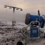 Seiklusturismi keskus katab lumega kahte nõlva