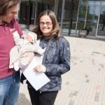 Uues haiglas tuli esimene laps ilmale emadepäeval