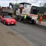 Jõhvis läks remonti ka Tartu maantee