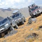 Maastikusõitjad turnisid Venemaa kõrgeima mäe nõlvadel