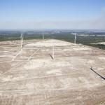 Eesti Energia avas tuhaväljal tuulepargi