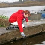 Narva jõkke asustati eile esimesed noored tuurad