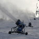 Mahasadanud lumi avas suusarajad