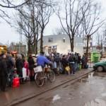 Koju naasvad venemaalased tekitavad piiril järjekordi