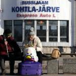 Kohtla-Järve bussijaam on lukus