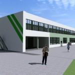 Ida-Virumaa kutsehariduskeskuse üks korpus jääb korruse jagu madalamaks