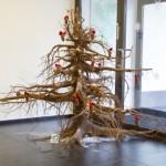 Mäetaguse jõulupuu võistluse võitis juurikapuu