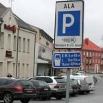 Jõhvi tahab kaotada tasulise parkimise
