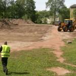 Järve gümnaasiumi staadioni ehitus hakkas pihta