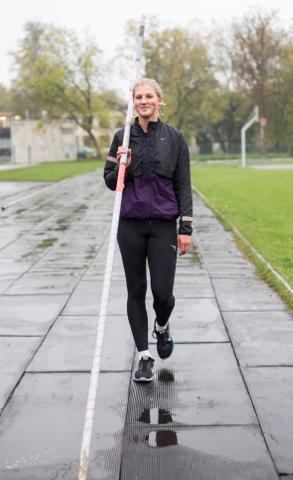 Reena Koll on sel aastal näinud kõvasti vaeva tehnika ja hoojooksu täiustamisega. Äsjastel Euroopa juunioride meistrivõistlustel see loodetud edu veel ei toonud, kuid pool hooaega on veel ees.