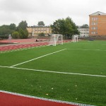Järve gümnaasiumi staadion 1. septembriks päris valmis ei saa