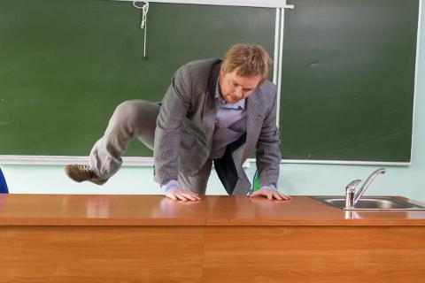 Mida kõike ei pea õpetaja tegema, et õpilaste tähelepanu köita!