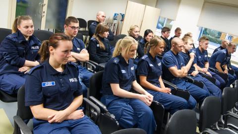 Tulevased politseiametnikud teevad praktikal reaalset tööd, aidates tagada piirkonna sisejulgeolekut.