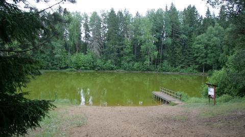 Kaitsealal asuvat Jõuga Pesujärve on seni mõjutanud üksnes loodus.