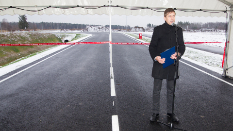 Sügisel avati pidulikult Jõhvi logistika- ja äripark. Teet Kuusmik loodab, et sellel aastal kerkivad sinna esimesed ettevõtted.