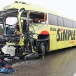 """Bussiavarii ohver: """"Nägin, kuidas veok bussi sisse sõitis"""""""