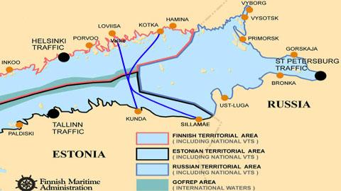 Kui Kotka ja Sillamäe vahelist ühendust segavad Venemaa territoriaalveed, siis Loviisa sadam võiks tähendada kiiremat ühendust Ida-Soome ja Virumaa vahel.