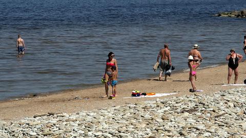 Isegi külma merevee poolest tuntud Toilas oli veesoojus sel nädalal 20 kraadi ringis.