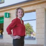 Turistidega töötamine aitab Olga Tšerjomuškinal vaimustust Narvast alles hoida