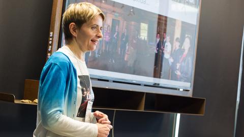 """""""Vene turg kosub,"""" rõõmustas Ida-Viru turismikoordinaator Kadri Jalonen eile Eesti kaevandusmuuseumis toimunud turismiklastri koosolekul."""