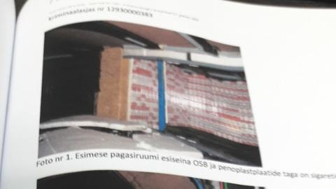 Sellised pildid avanesid Läti tolliametnikele 2012. aasta 25. augusti varahommikul, kui nad asusid kontrollima Eestist tulnud turismibussi.