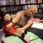 Evelin Ilves esitles Kohtla-Järvel oma esimest lasteraamatut
