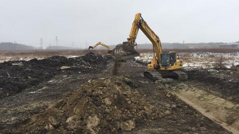 Narva logistika- ja tööstuspargi teise etapi ehitustööd lõpevad 13. oktoobriks.