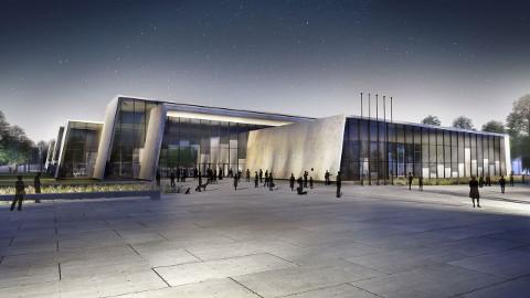 """Selline näeb välja  pealinna Piritale planeeritud sisekaitseakadeemia uue õppekompleksi arhitektuurikonkursi võidutöö """"Faalanks"""", mille autorid on büroo Arhitekt11 arhitektid. Kas see ehitatakse Tallinna või tuleb sisekaitseakadeemia Narva toomise korral hakata projekteerima uut lahendust, peab valitsus otsustama lähinädalatel."""