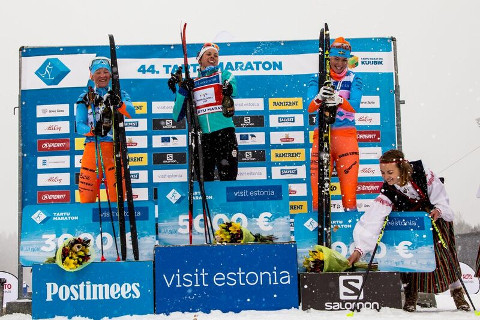 Tatjana Mannima jõudis Tartu maratonil taas poodiumile ja pälvis teise koha eest lisaks headele emotsioonidele ka 3000eurose tšeki.