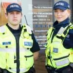 Ligi pooled politseikooli lõpetajatest tulid tööle itta