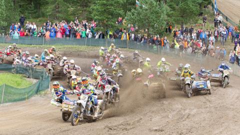 Kiviõli motofestival toob augustis kohale kõik külgvankriga mootorrattaga sõitvad maailma tipud ning poodiumikohtade pärast hakkavad heitlema ka Kert Varik ja Maarek Miil, kes on praegu parimas vormis.
