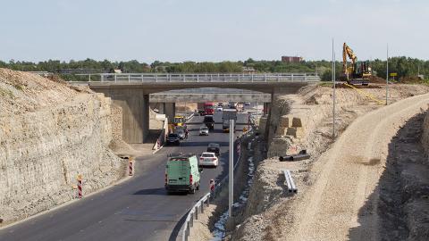 Sillamäe kahetasandilise liiklussõlme ehitustööd on sisuliselt lõppenud.