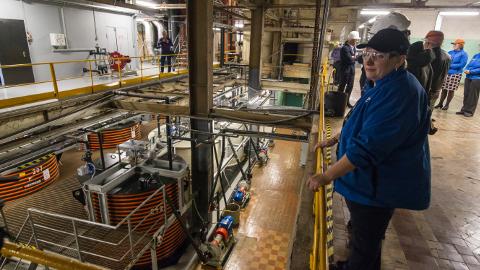 Signe Kase sõnul võimaldab eile avatud liin NPM Silmetil märgatavalt kasvatada nioobiumi ja tantaali tootmismahtu.