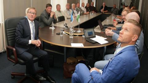 Maakonna omavalitsusliit on ootel: tulevik oleneb sellest, mida otsustab Narva linnavolikogu.