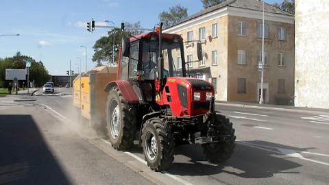 Veerandsajandi juubel tulekul: N&V on hooldanud Kohtla-Järve linna teid ja tänavaid ning haljasalasid ligemale 20 aastat ja teeb seda ka järgneval viiel aastal.